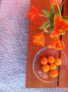 A Bright Orange Sunday