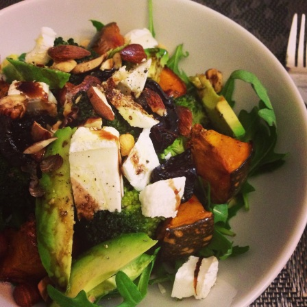 A few of my favourite things salad