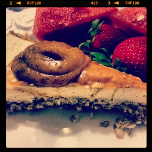Tarte au Caca (as my French friend called it) or Pooh Pie (sounds way better in French!)